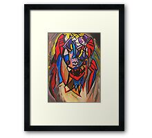The Other Half Framed Print
