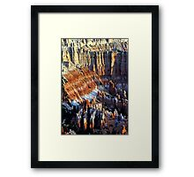 Colorful Formations - Bryce Canyon National Park - Utah - U.S.A Framed Print