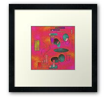 Geometric Art-Available As Art Prints-Mugs,Cases,Duvets,T Shirts,Stickers,etc Framed Print