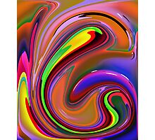 Fluid  Colours 2-Available As Art Prints-Mugs,Cases,Duvets,T Shirts,Stickers,etc Photographic Print