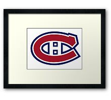 Montreal Canadiens Framed Print