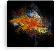 Distorted Floor Canvas Print