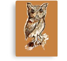 I am the Owl Canvas Print