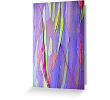 Rainbow Gum Greeting Card