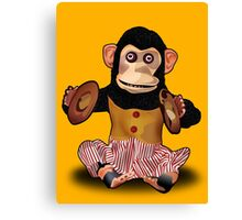 Clapping Monkey Canvas Print