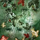 The Eyes of Fall - Image and Poem by CarolM