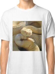 Albino Western Diamondback Rattlesnake - USA Classic T-Shirt