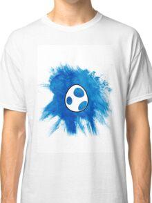 Blue Yoshi Egg Classic T-Shirt