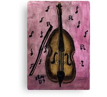 The Music Lingers On.. Canvas Print