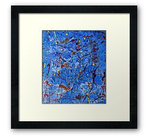 Rusty Blue-Available As Art Prints-Mugs,Cases,Duvets,T Shirts,Stickers,etc Framed Print