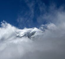 Mont Blanc by Jim Barter
