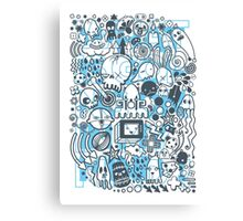 What is going on in my mind! Canvas Print