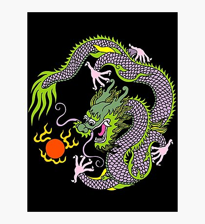 Chinese Dragon T Shirt Photographic Print