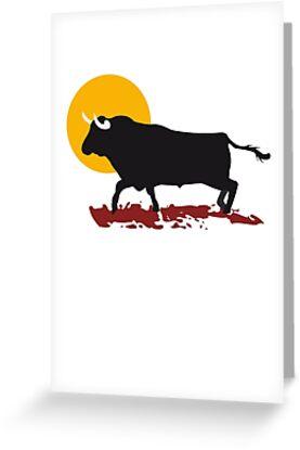 bull and sun by Alejandro Durán Fuentes