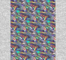 silver holographic Unisex T-Shirt