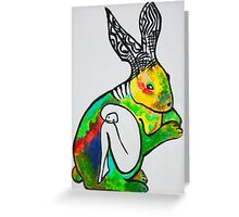 Rabbit's Hive Greeting Card
