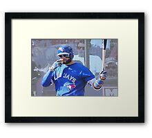 Kevin Pillar  Toronto Blue Jay Framed Print