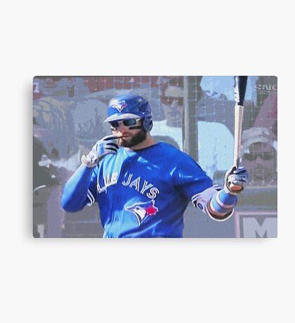 Kevin Pillar  Toronto Blue Jay Canvas Print