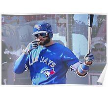 Kevin Pillar  Toronto Blue Jay Poster