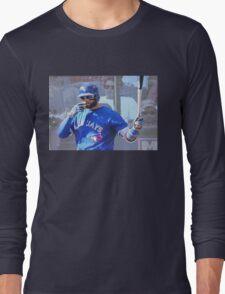 Kevin Pillar  Toronto Blue Jay Long Sleeve T-Shirt