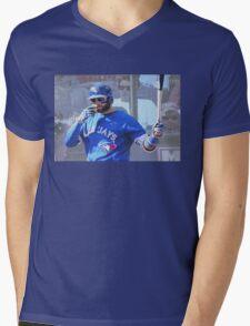 Kevin Pillar  Toronto Blue Jay Mens V-Neck T-Shirt