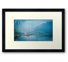 Cataract Gorge. Launceston Framed Print