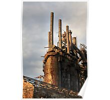 Rusted Furnace Poster