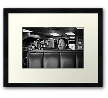 Ruminating Framed Print