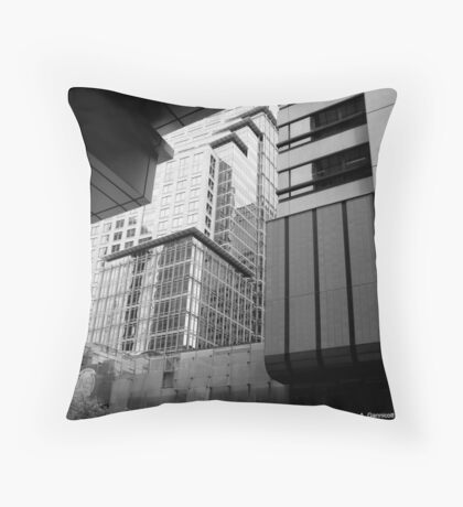Sydney - Streetscape Throw Pillow