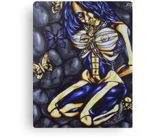happiness in slavery Canvas Print