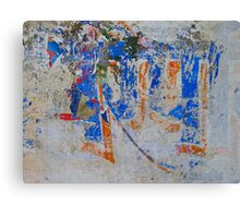 Red, white and blue...with other tints Canvas Print