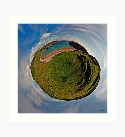 Silver Strand Beach, Malin Beg, South Donegal Art Print