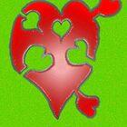 A LOVE puzzle piece by James Lewis Hamilton