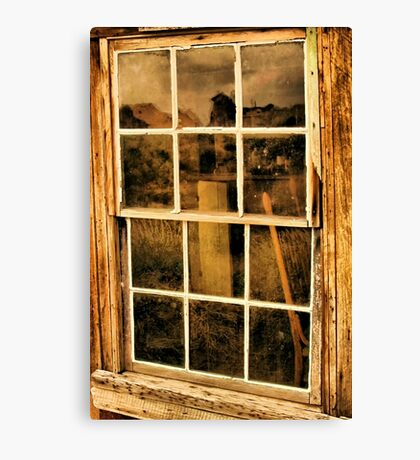 A Window to the Past Canvas Print