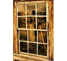 A Window to the Past Photographic Print