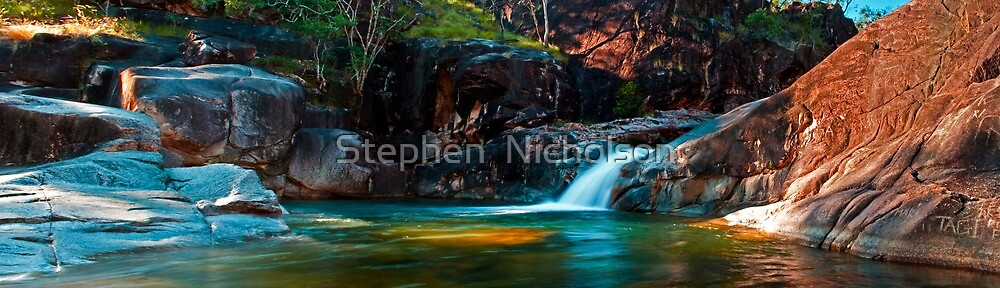 Lagoon Big Crystal Creek by Stephen  Nicholson