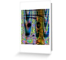 Colour Wave-Available In Art Prints-Mugs,Cases,Duvets,T Shirts,Stickers,etc Greeting Card