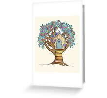 Live Simply, Love Trees Greeting Card