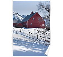 Old Snowmass Village Barn Poster