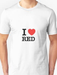 I Love RED T-Shirt