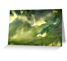 Cosmic eruptions Greeting Card