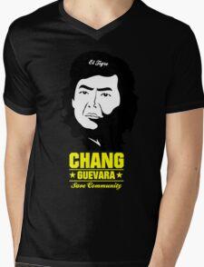 Chang Guevara Mens V-Neck T-Shirt