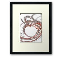Hearts Delight-Available As Art Prints-Mugs,Cases,Duvets,T Shirts,Stickers,etc Framed Print