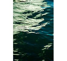 Green Reflection   Photographic Print