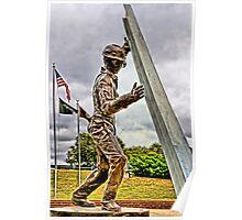 Steel Workers Memorial Poster