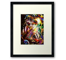 The Temporal Voyaging Experience Framed Print