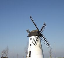 Little Marton Mill Blackpool by Barry Norton