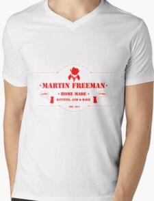 Kittens, Jam and Rage Mens V-Neck T-Shirt
