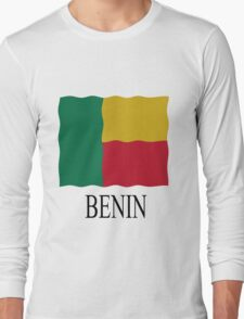 Benin flag Long Sleeve T-Shirt