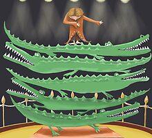 Crocodile Circus by fizzyjinks